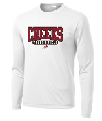 Creeks Track & Field Performance Long Sleeve T-shirt