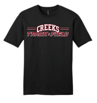 Creeks Track & Field T-shirt