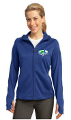 Loggerhead Performance Ladies Full zip Tech Hoodie