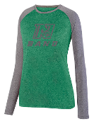 Nease Band Ladies Performance Softball Style Longsleeve