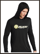 Villages LAX Lightweight Performance Hooded Pullover