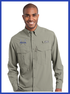 First Coast Rowing Eddie Bauer Fishing Shirt