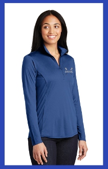 First Coast Rowing Ladies Performance 1/4 zip
