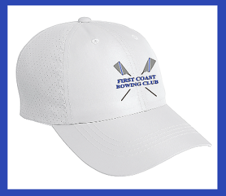 First Coast Rowing Perforated Cap
